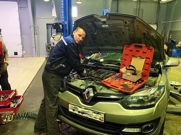 #Егорьевск. Renault Megan 3 1.6 MT